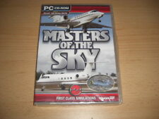 Masters of the Sky PC CD ROM add-on Simulatore di volo SIM 2004 & x FS2004 FSX Nuova