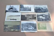9 New Hampshire Post cards Hays Residance Elephant Rock Gillians pond  1900s