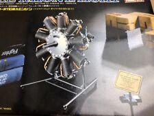 Hasegawa 1/8 ed02-1000 Le Rhone 110HP Mega Rare contents sealed model Engine kit
