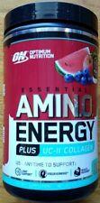 Optimum Nutrition Essential AMIN.O. Energy Powder Plus UC-II Collagen, 30 Servng