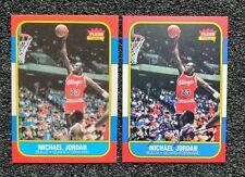 1986 Michael Jordan Autograph Rookie Card Lot. ACEO RP Cards. Mint Condition!!