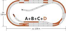Railnscale h9530 strade pavimentazione-Laminazione Set Strada /& tram 12mm 2x