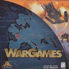 WAR GAMES WarGames - Vintage Rare Original RTS Strategy PC Game NEW Win98-XP