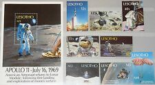 LESOTHO 1989 792-99 Block 67 731-739 Apollo 11 Moon Landing Space Weltraum MNH