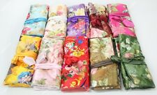 wholesale 10pcs JEWELRY TRAVEL BAG Roll Case Pouch Carrying Fabric