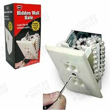 Wall Safe Outlet Safe Diversion Stash Hidden Case Secret Fake Cash Security 4/20