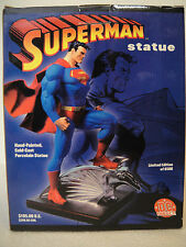 DC DIRECT SUPERMAN STATUE FULL SIZE By JIM LEE LOW#0260/5000  MAN OF STEEL JLA