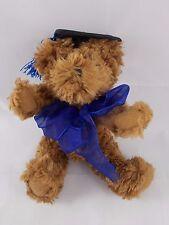 "Hallmark Brown Teddy Bear Graduation Graduate Plush 8"""