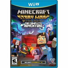 BRAND NEW - WII U MINECRAFT STORY MODE THE COMPLETE ADVENTURE