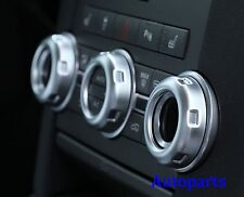 Chrome Dashboard console switch button ring cover trim LAND ROVER DISCOVERY 4
