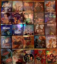 Lot of 4 Disney DVDs:Monster, Beauty and the Beast, Zootopia, Pocahontas, & more