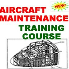 Aircraft Air Plane Maintenance and Repair Training Course Manual Cd
