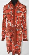 AUTH $1395 Gucci Women Silk Long Sleeve Dress 42/6