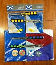 More details for family flag & pole pack ~ ideal for marches & rallies ~special offer only £39.95