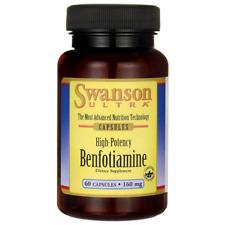 Swanson Double Strength Benfotiamine 160 mg 60 Caps