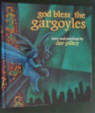 "DAV PILKEY ""God Bless the Gargoyles"" 1996 1st Edition"