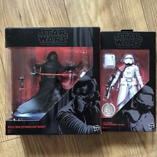 Star Wars Black Series Kylo Ren Starkiller Base First Order Snowtrooper Officer