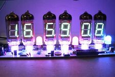 IV-11 VFD CLOCK WITH REMOTE AND ALARM with 6pcs IV11 vfd tubes nixie era DIY KIT