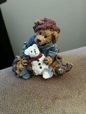 Boyds Bearstone - Elliott & Snowbeary #2242 - No Box - 12th Edition