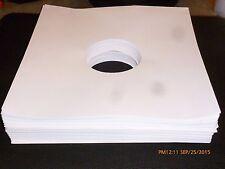 """NEW 500 12"""" Record Sleeves White Paper Inner LP Vinyl Album 33 acid free"""