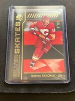 MATTHEW TKACHUK 2016-17 UPPER DECK SP AUTHENTIC SILVER SKATES ROOKIE GOLD /99
