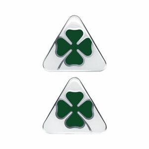 Adesivi Alfa Romeo 3D Ufficiale Quadrifoglio Verde 2 Pezzi Dx + Sx