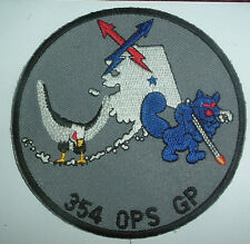 AMERICAN PATCHES-UNITED STATES AIR FORCE USAF 354th OPERATIONS GP GAGGLE PATCH