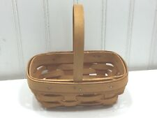 Longaberger Small Parsley Booking Basket 2000 24216