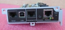 APC AP9537SUM 8000 XL Management Card USB, Serial, Universal I/O, Ethernet Ports