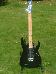 Ibanez GRG 170M HSH Guitar. Maple F/board. Good Cond. Sounds Great! Lo Start!