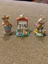 Midwest Importers Cannon Falls Mini Easter Bunnies Eggs Stand Set (Mg)