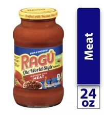 Ragu Old World Style Meat Pasta Sauce 24oz Jar FREE SHIPPING