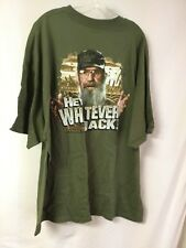 New Men's Duck Dynasty T-Shirt Hey Whatever Jack Green Size 3XL #885Z