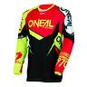 Oneal O´neal Hardwear Cross DH Freeride BMX Enduro Jersey  FLOW TRUE rot hi fiz
