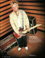 Lit Jeremy Popoff Fender Custom Shop Diamond-Plate Telecaster guitar pin-up