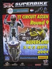 Poster Superbike World Championship TT Circuit Assen 3/4/5 sept. 2004