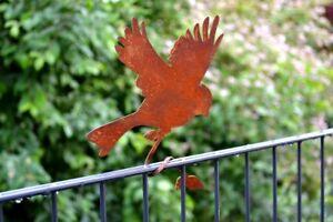Rostdeko Astvogel fliegender Vogel Edelrost Deko Rost Tier Gartendeko Geschenk