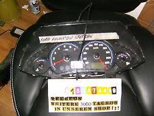tacho kombiinstrument ford focus rs blaue folie 98ab10849jh umbau diesel