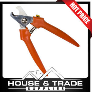 Professional Cable Cutter 165mm Plastic Handles MADE IN ITALY 355