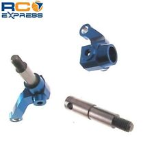 GPM Racing Losi Mini-T Blue Aluminum Knuckles SMT021T