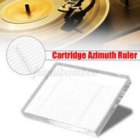 Azimuth-Einstellungs Acryl Ruler Device Lehre Schablone für Tonabnehmer Headshe