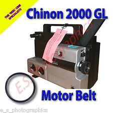 CHINON 2000 GL 8mm CINE PROIETTORE Belt (motore principale Cintura)