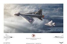29 Squadron English Electric/BAC Lightning, RAF Wattisham. Digital Art Print