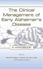 The Clinical Management of Early Alzheimer's Disease: A Handbook-ExLibrary