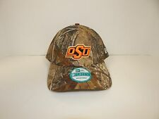 New Era 9Forty OSU Orange Lettering w/ Camo Print Upper Adjustable Cap