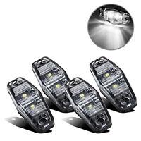 4x12V Blanc SMD 2 LED Lampes Feux De Gabarit Camion Caravane Chassis