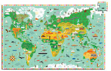 Djeco - Monuments of the World Observation Puzzle 200pce
