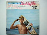 Johnny Hallyday 45Tours EP vinyle Chante Les Filles vogue