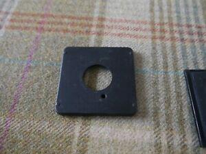 Century Graflex medium format lens board