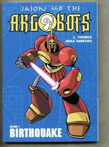 GN/TPB Jason And The Argobots Volume 1 Birthquake 2003 nm- 9.2 ONI Comics